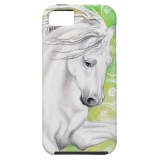 Andalusian Horse Green Case For The iPhone 5