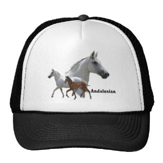 Andalusian Horse Mesh Hat