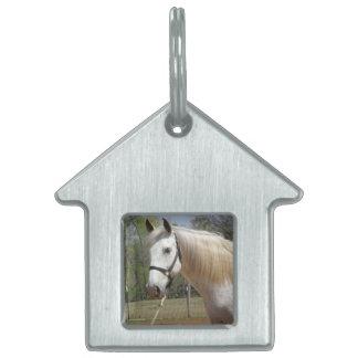 ANDALUSIAN HORSE HEAD MORISCO PET ID TAG