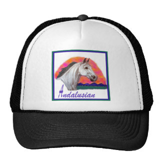Andalusian Horse Head Study Trucker Hat