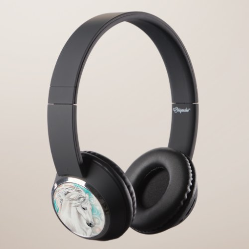 Andalusian Horse Headphones