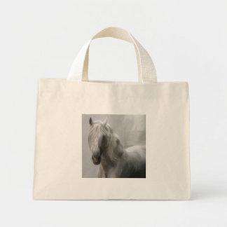 Andalusian horse mini tote bag