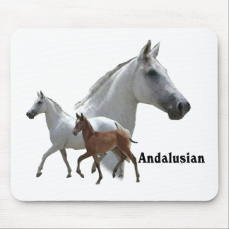Andalusian Horse Mouse Pad