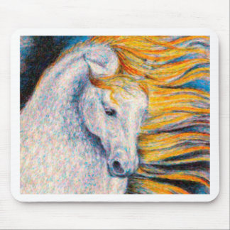 Andalusian Horse Mouse Pads