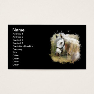 ANDALUSIAN HORSE PORTRAIT BUSINESS CARD