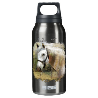 ANDALUSIAN HORSE PORTRAIT INSULATED WATER BOTTLE
