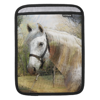 ANDALUSIAN HORSE PORTRAIT iPad Sleeve