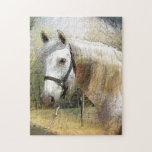 ANDALUSIAN HORSE PORTRAIT Puzzle