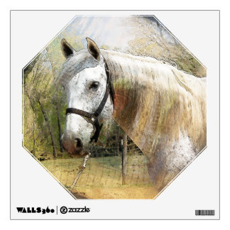 ANDALUSIAN HORSE PORTRAIT Wall Decal