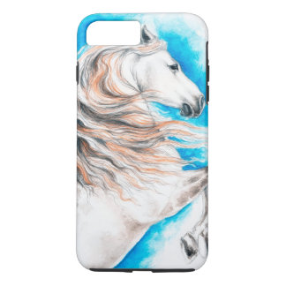 Andalusian  Horse Rearing iPhone 7 Plus Case