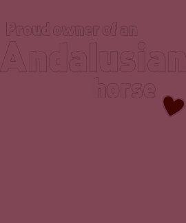 Andalusian horse shirt shirt