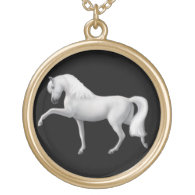 Andalusian Horse Spanish Step Necklace