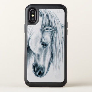 Andalusian Horse Speck iPhone X Case