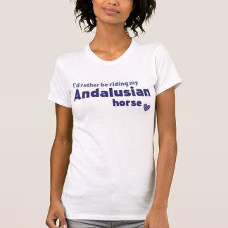 Andalusian horse t-shirt tee shirt