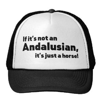 Andalusian horse trucker hat