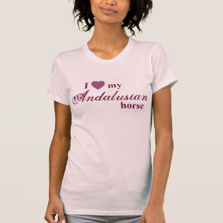 Andalusian horse t shirt