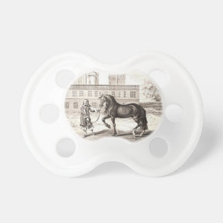 Andalusian Horse Vintage Drawing Art Pacifier