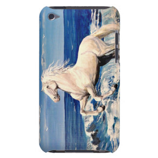 Andalusian horse, White stallion iPod Touch Case