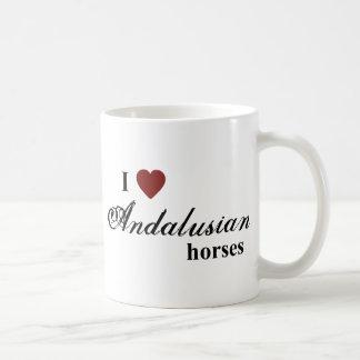 Andalusian horses coffee mug