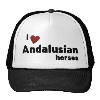 Andalusian horses trucker hat