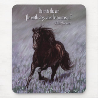 Andalusian in Flowers Inspirational Mousepad