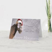 Andalusian Santa Holiday Card