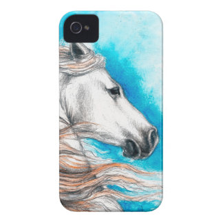 Andalusian Stallion Horse iPhone 4 Case