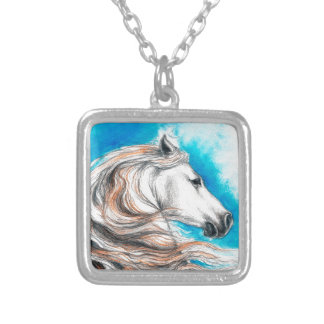 Andalusian Stallion Horse Necklaces