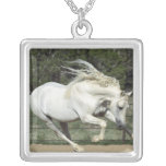 Andalusian Stallion running, PR Custom Necklace