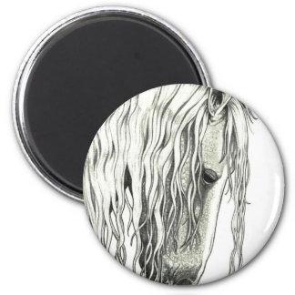 Andalusian True Romantic Horse Fridge Magnet