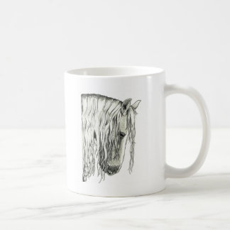 Andalusian True Romantic Horse Coffee Mugs