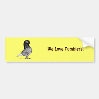 Andalusian Tumbler Bumper Sticker