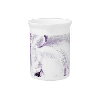 Andaluz púrpura jarra