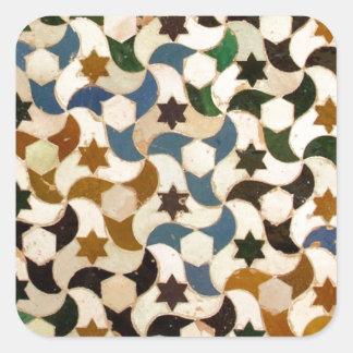 Andaluz Square Sticker