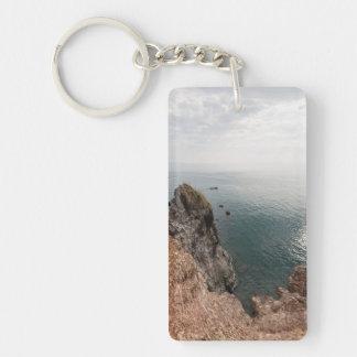 Andaman Sea Double-Sided Rectangular Acrylic Keychain