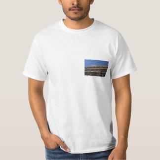 Andamio en una camiseta polera