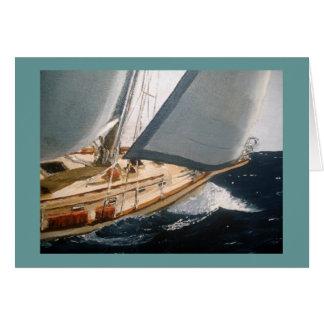 Andante Sailing Bow Wake Card