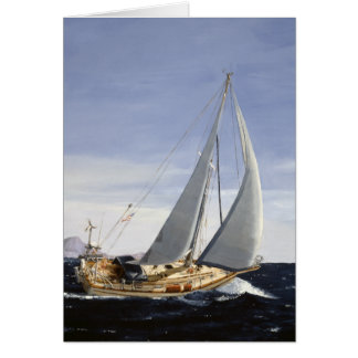 Andante Sailing note card