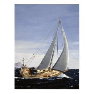 Andante Sailing postcard