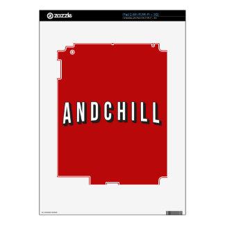 ANDCHILL CALCOMANÍAS PARA EL iPad 2