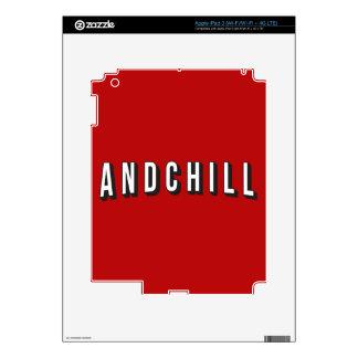 ANDCHILL PEGATINA SKIN PARA iPad 3