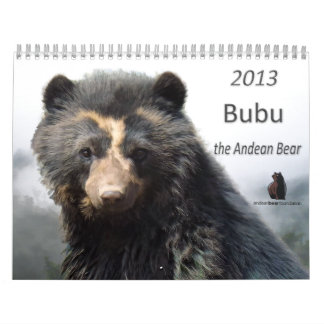 Andean Bear Foundation Calendar 2013