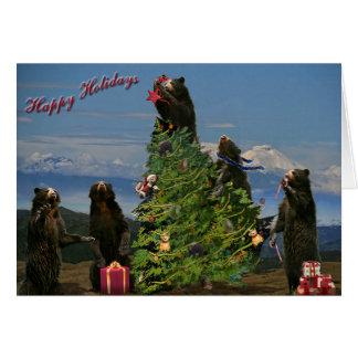 Andean Bear Holiday 2011 Card