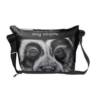 Andean Bear Messenger Bag