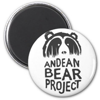 Andean Bear Project 2 Inch Round Magnet
