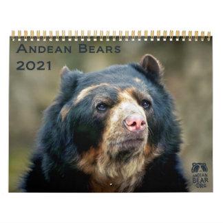 Andean Bears II -15 month calendar 1/2012 - 3/2013