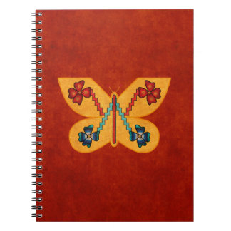Andean Butterfly Spiral Notebooks
