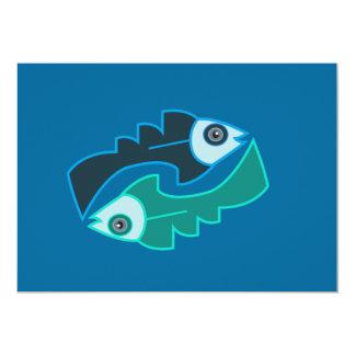 """Andean Fish Invitación 5"""" X 7"""""""