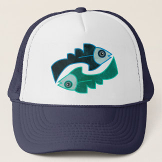 Andean Fish Trucker Hat