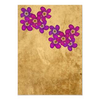 """Andean Flowers II Invitación 5"""" X 7"""""""